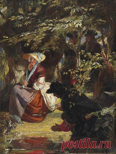 Художники Ward: Муж Edward Matthew Ward, R.A. (British, 1816–1879)