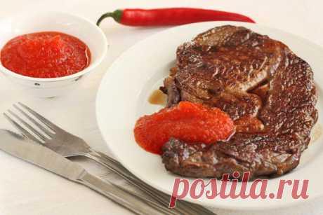 Соус-варенье из острого перца к мясу — рецепт с пошаговыми фотографиями на Foodclub.ru