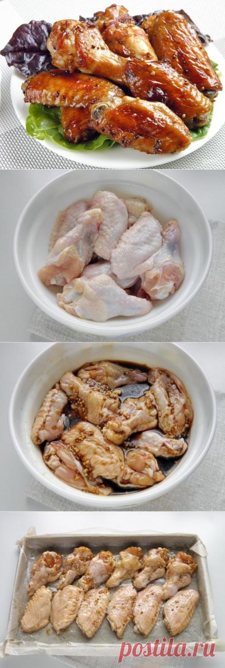 Как приготовить острые крылышки к пиву - рецепт, ингредиенты и фотографии