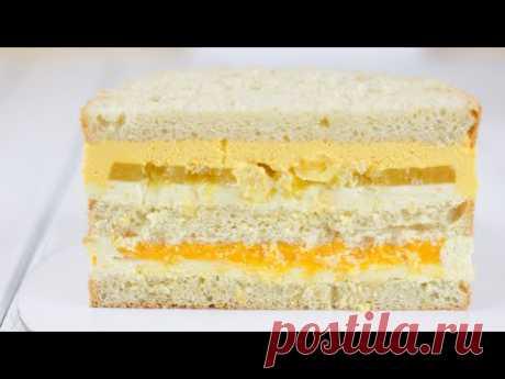 САМЫЙ ВКУСНЫЙ ТОРТ и МОЯ СЕКРЕТНАЯ НАЧИНКА ТОРТА. Рецепт крема и рецепт бисквита. Как собрать торт