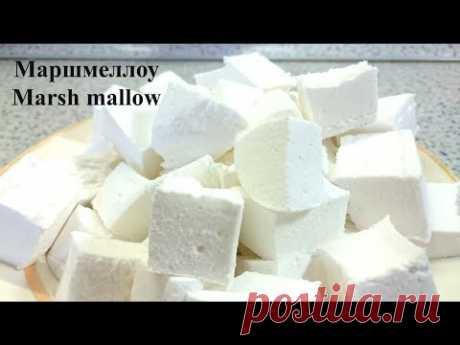 Американский зефир Маршмеллоу marsh mallow (простой рецепт в домашних условиях)