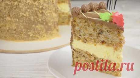 Настоящий киевский торт: как в советских магазинах | Таки Вкусно