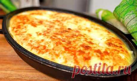 Рыба под яично-сливочной заливкой в духовке | Рецепты на FooDee.top