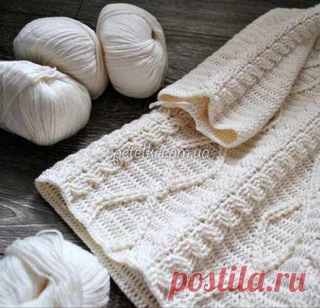 Пуловер крючком от Марии Селиховой. Схемы