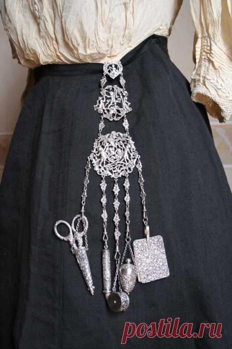 Викторианский шатлен - стильная предтеча дамской сумочки