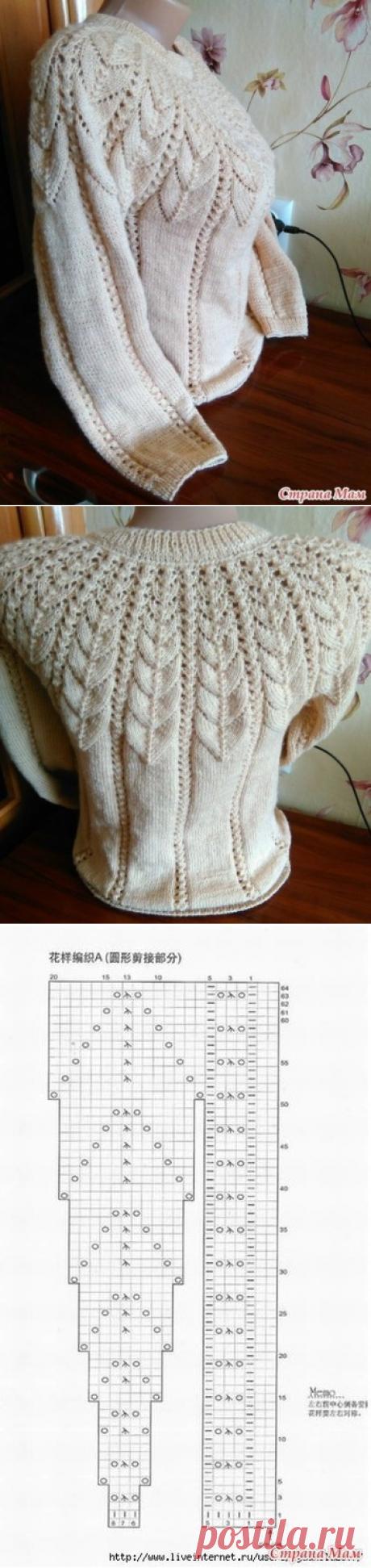 Невероятно красивый узор для свитера — Сделай сам, идеи для творчества - DIY Ideas