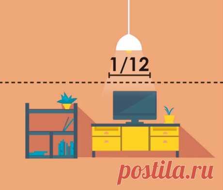Высота подвеса светильников: На какой высоте вешать светильники и люстру над кроватью, обеденным столом на кухне, в ванной комнате, коридоре   Houzz Россия