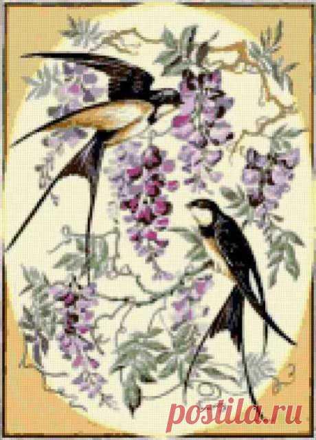изображения птиц и насекомых в отделке вязаных изделий: 5 тыс изображений найдено в Яндекс.Картинках