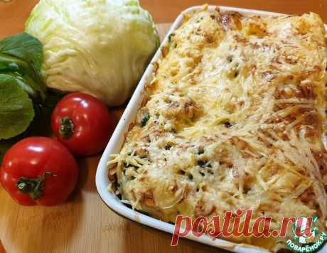 Запеканка из брокколи и цветной капусты – кулинарный рецепт