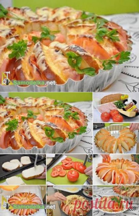 Бутерброды запеченные в духовке / Рецепты - готовим сами / Самоделка.net - Сделай сам своими руками   Самоделки. Полезные советы и рекомендации домашнему умельцу