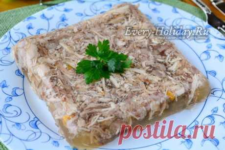 Как варить холодец из свиных ножек и рульки: рецепт с фото пошагово