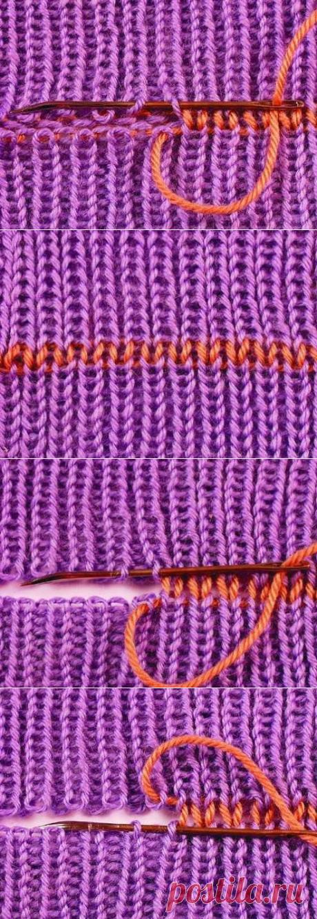 VYAZALOCHKI: Como es correcto que costura coser los productos tejidos