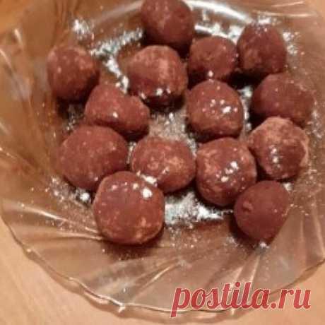Десерты для диабетиков: Прекрасные нутовые конфеты