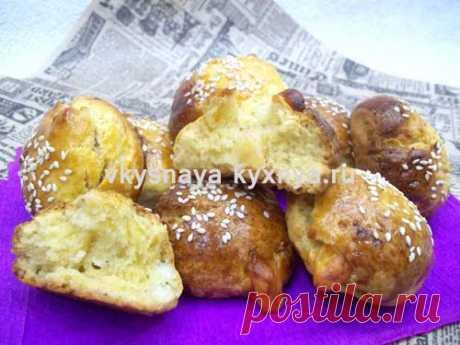 Погача: турецкие сырные булочки с кунжутом Один из рецептов, заслуживающих внимание, который хочу вам сегодня предложить - погача или турецкие сырные булочки с кунжутом.