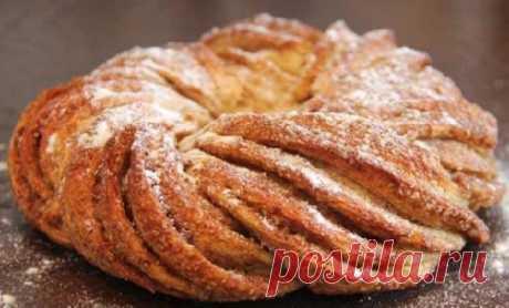 Эстонская булочка с корицей — Кулинарная страничка
