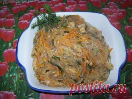 Фунчоза алма-атинская рецепт с фото пошагово - 1000.menu