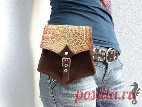 Como coser la bolsa zonal. El patrón y la clase maestra.