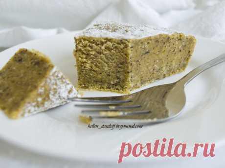 Тыквенное гато от Великого мастера - My lovely cake