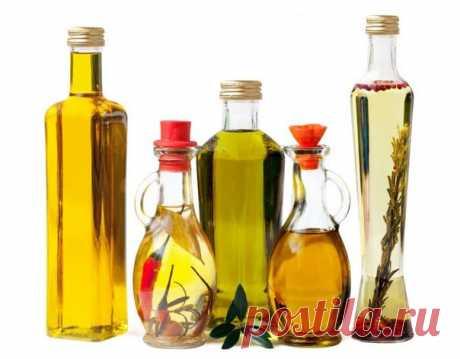 Растительные масла - информация о каждом!