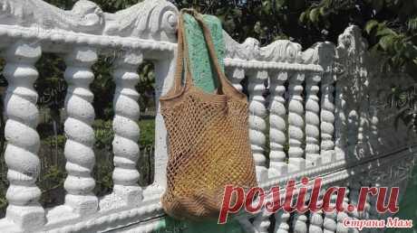 Авоська крючком - Вязание - Страна Мам