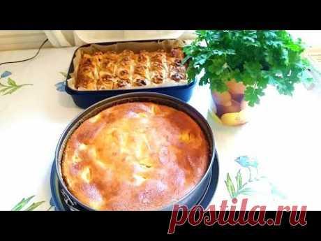 (475) Нежнейшая творожная запеканка.Käse Kuchen ohne Boden. - YouTube