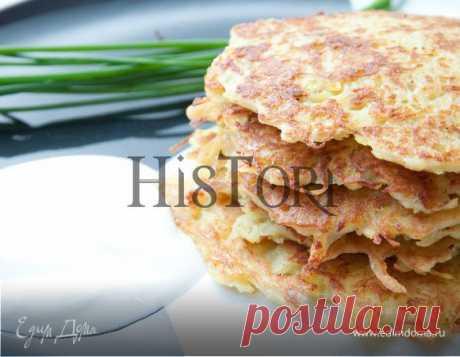 Драники. Ингредиенты: картофель, яйца куриные, мука