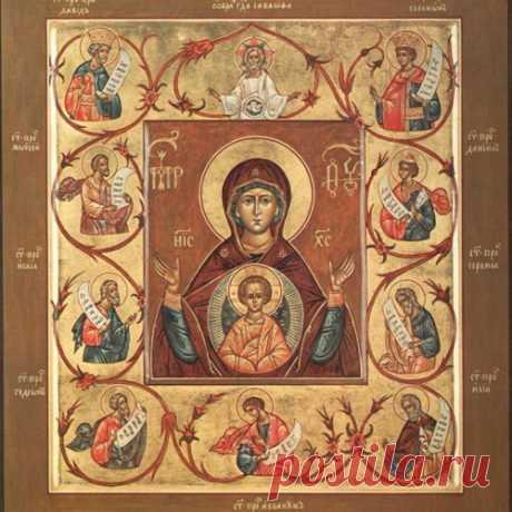 Икона Божией Матери, именуемая «Знамение»