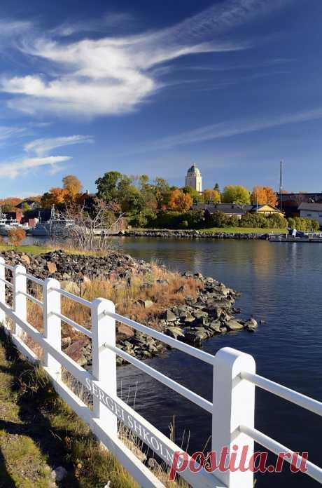 Крепость Свеаборг расположена на 4 островах в Финском заливе близ Хельсинки