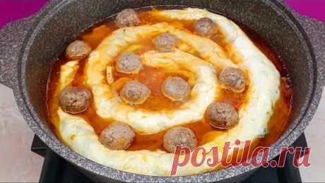 Попробовав раз это Узбекское блюдо, вы будете готовить его всегда* Вкусный Обед или Ужин