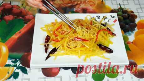 Рецепт жареной картошки по-китайски