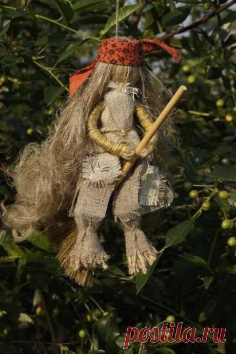Кукла Баба Яга (из мешковины): 8 крутых поделок Идеи