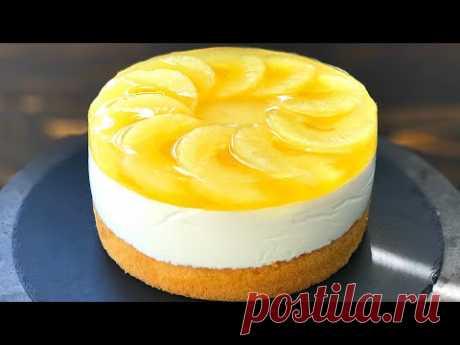 ТВОРОЖНЫЙ торт с АНАНАСОМ и ЖЕЛЕ🍍Этот ТОРТ нравится всем!