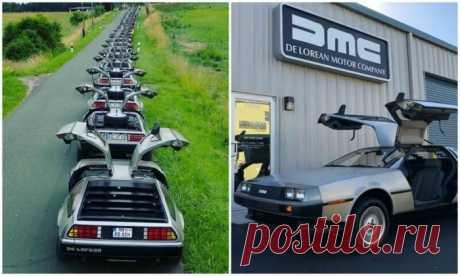 Легендарные и нестареющие автомобили DeLorean DMC-12 . Тут забавно !!!
