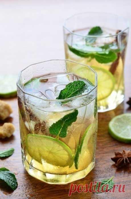 Холодный чай: 5 летних идей! Яркие рецепты для прохладительного чаепития! Чай по-мароккански. ...