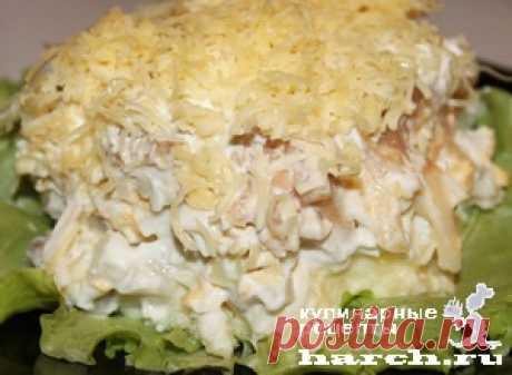 Слоеный салат с сельдью «Престиж» | Фоторецепт с подробным описанием от Харч.ру