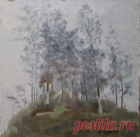 Туман в Красной Поляне - Официальный сайт художника Игоря Ясакова