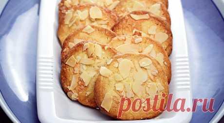Лимонное печенье с миндалем попробуй – невозможно 100% оторваться
