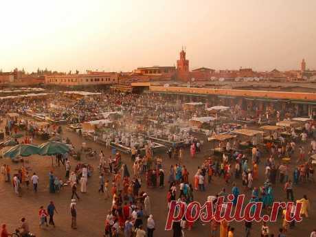 Мечеть Кутубия в Марракеше (Марокко) - Путешествуем вместе
