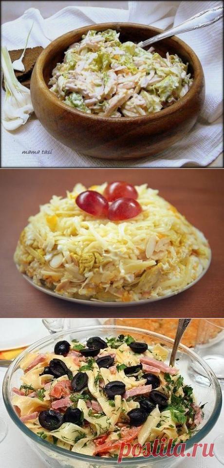 10 салатов с СЫРОМ.