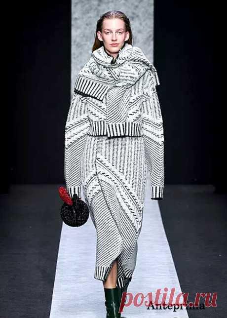 Вязаная мода. Осень-зима 2020-2021гг. Обзор женской моды | Журнал Ярмарки Мастеров