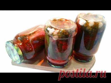 Огурцы в Томатном Маринаде на Зиму ✧ Попробуйте и удивитесь насколько это Вкусно