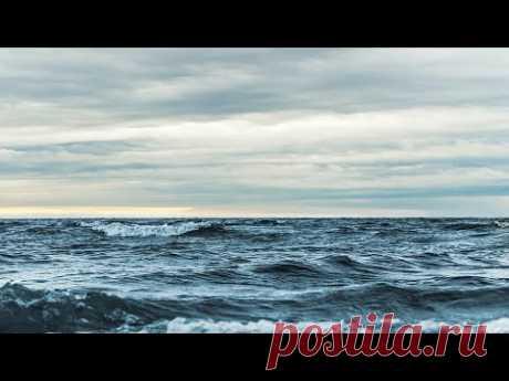 Расслабляющие и окружающие звуки океана для вашей души