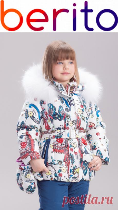 Куртка и полукомбинезон, комплект для девочки Bilemi  на зиму  для девочки 274313, купить за 5 500 руб. в интернет-магазине Berito