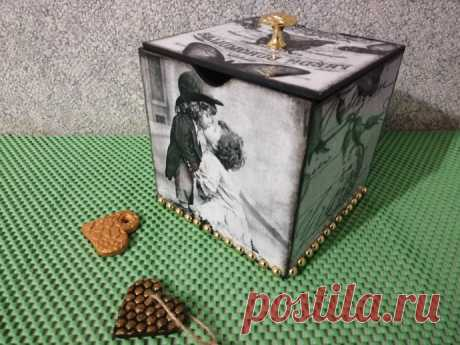 Мини-комодик из картонных коробок. из категории Мои работы – Вязаные идеи, идеи для вязания