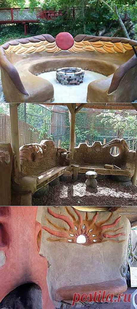 Скамейка своими руками: чудо из подручных материалов