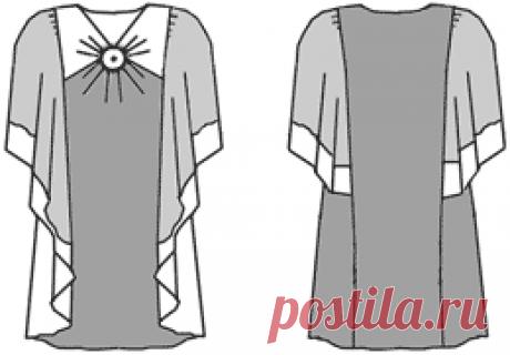 Пример моделирования сарафана на основе платья прилегающего силуэта