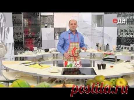 """Рецепт Тирамису - Программа """"Мировой повар"""" (ТВ Еда)"""