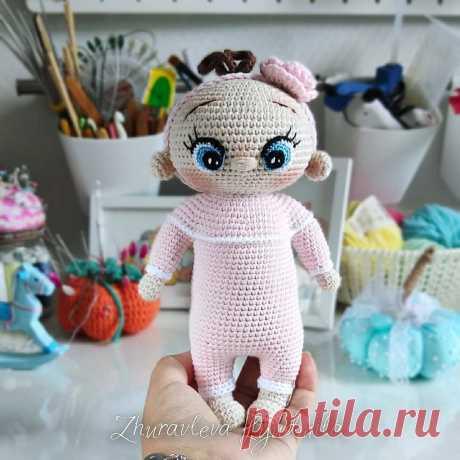 Вязаная кукла пупс крючком | Схемы амигуруми