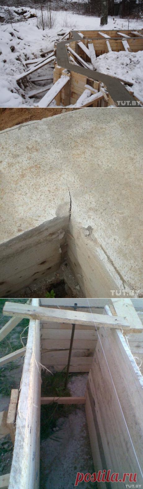 4 испорченных фундамента или как делать не надо! | Железное Дерево | Яндекс Дзен