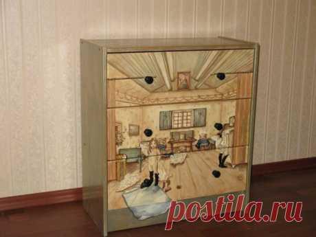Как превратить старый предмет мебели в дизайнерский элемент интерьера